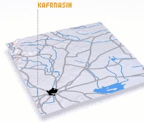 3d view of Kafr Nāşiḩ