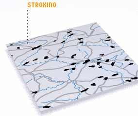 3d view of Strokino