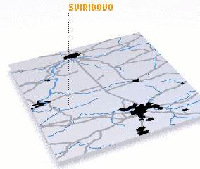 3d view of Sviridovo