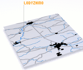 3d view of Lodyzhino