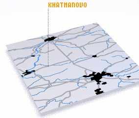 3d view of Khatmanovo