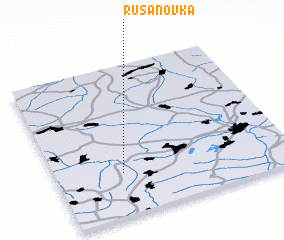 3d view of Rusanovka