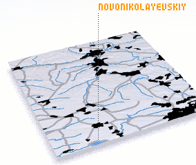 3d view of Novo-Nikolayevskiy