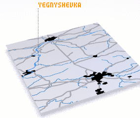 3d view of Yegnyshëvka