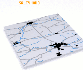 3d view of Saltykovo
