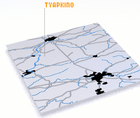3d view of Tyapkino