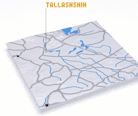 3d view of Tall ash Shīḩ