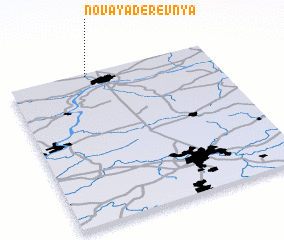 3d view of Novaya Derevnya