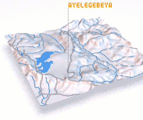 3d view of Āyelē Gebeya