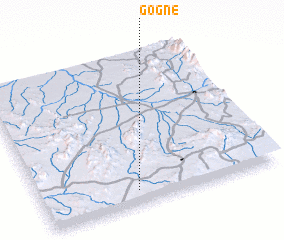 3d view of Gogne