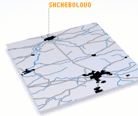 3d view of Shchebolovo