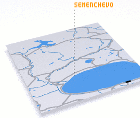 3d view of Semenchevo