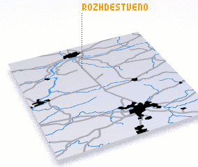3d view of Rozhdestveno