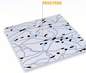 3d view of Prusynok