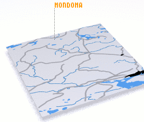 3d view of Mondoma