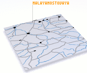 3d view of Malaya Mostovaya