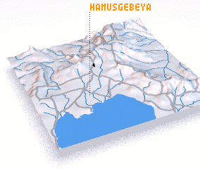3d view of Hāmus Gebeya