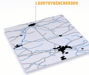 3d view of Levoye Yashcherovo
