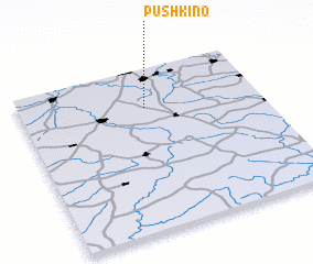 3d view of Pushkino
