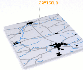 3d view of Zaytsevo