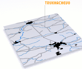3d view of Trukhachëvo
