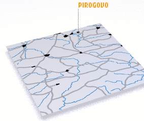 3d view of Pirogovo