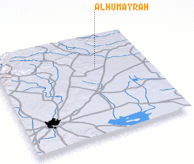 3d view of Al Ḩumayrah