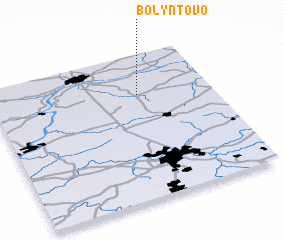 3d view of Bolyntovo