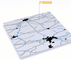3d view of Zybinka