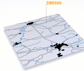 3d view of Zibrovo