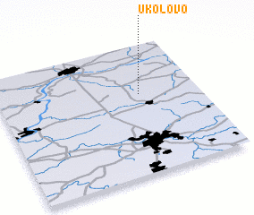 3d view of Ukolovo