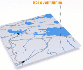 3d view of Malaya Novinka