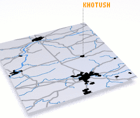 3d view of Khotush\