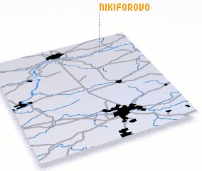3d view of Nikiforovo