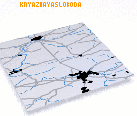 3d view of Knyazhaya Sloboda