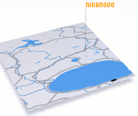 3d view of Nikanovo