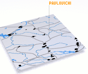 3d view of Pavlovichi