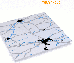 3d view of Telyakovo