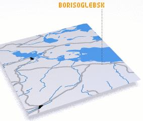3d view of Borisoglebsk
