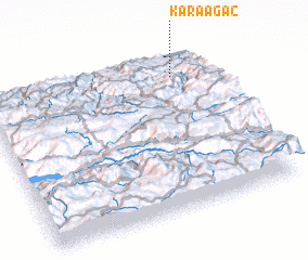 3d view of Karaağaç