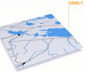3d view of Sokoly