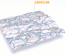 3d view of Çavuşlar