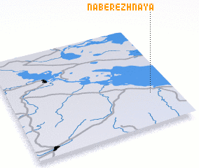 3d view of Naberezhnaya