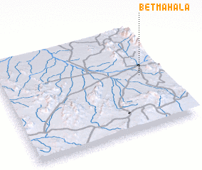 3d view of Bet Mahala