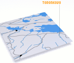 3d view of Toronkovo