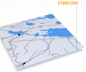 3d view of Stanilovo