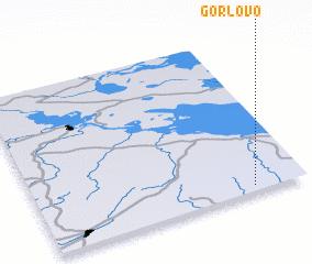 3d view of Gorlovo