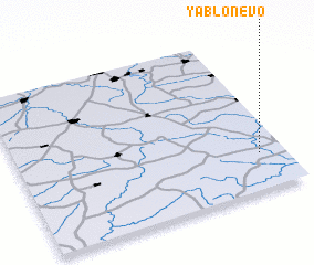 3d view of Yablonevo