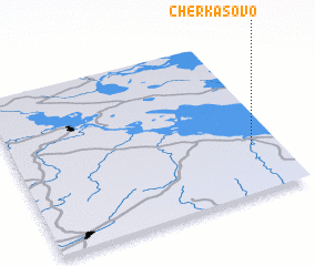 3d view of Cherkasovo