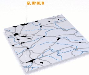 3d view of Glumovo